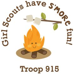 Custom Girl Scouts Have S'more Fun by FrostedBakeShopCakes Girl Scout Swap, Girl Scout Leader, Girl Scout Troop, Brownie Girl Scouts, Boy Scouts, Girl Scout Cookie Sales, Girl Scout Cookies, Girl Scout Shirts, Camping Activities For Kids