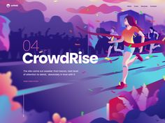 CrowdRise - Case Study designed by Eddie Lobanovskiy for unfold . Connect with them on Dribbble; the global community for designers and creative professionals. Design Sites, Interaktives Design, Web Design Company, Layout Design, Webdesign Layouts, Responsive Layout, Banner Web Design, Desing Inspiration, Case Study Design