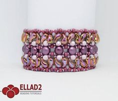 New beading project with beautiful Zoliduo beads. Fun to make and it's not too much time-consuming. Project level: Intermediate. Beading Tutorial for Milun Bracelet is very detailed, easy to follow, step by step, with clear beading instructions and color photos of each step. Material list:
