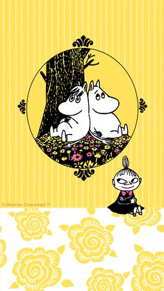 Moomin Wallpaper, Iphone Wallpaper, Little My Moomin, Character Illustration, Illustration Art, Moomin Valley, Tove Jansson, Science Fair Projects, Scandinavian