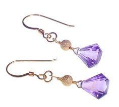 semi-precious gemstone earrings