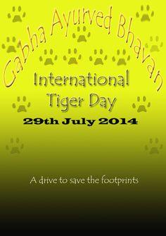 Gabha Ayurved Bhavan-- International Tiger Day