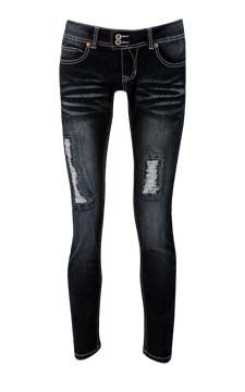 Whisker Skinny Jean                                                                                  front view