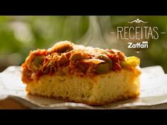 Receita Pizza de Atum | Zaffari & Bourbon