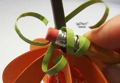 Tootsie Pop Pumpkin with directions to make it