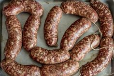 Homemade Bratwurst – German Sausage Recipes. These came out a lot spicier and not near as much like bratwurst as I had hoped. But still very tasty
