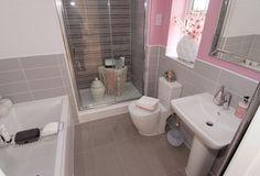 Master bedroom en suite in The Moorecroft