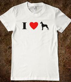 85467e8e I Heart Great Dane Silhouette Shirt Lindsay Lohan, Irish Boys, Flag Colors,  Flag