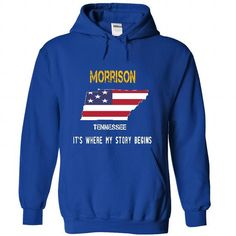 MORRISON - Its where my story begins! - #comfy sweatshirt #sweaters for fall. CHECK PRICE => https://www.sunfrog.com/No-Category/MORRISON--Its-where-my-story-begins-5461-RoyalBlue-22514916-Hoodie.html?68278