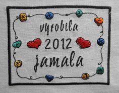 ~jamala~: Štítky na moje deky