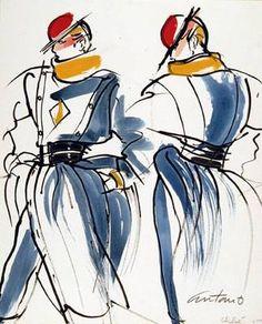 Antonio Lopez - fashion illustration