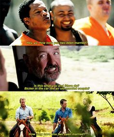 H50: 1x04 H50: 2x02 H50: 4x05 one day I want danny to just snap 'YOU KNOW WHAT GOING ON LIKE FOUR YEARS NOW' 'FOUR L O N G FUCKING YEARS' 'DO YOU HAVE ANY IDEA WHAT I PUT UP WITH' 'WELL I'LL TELL YOU' the ranting covers everything from the shark cage thing to taking off for japan and only leaving a letter behind the person regrets asking steve has to duck to hide his smile though mcdanno