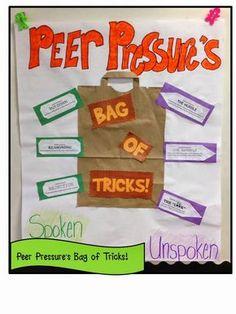 Teaching How to Resist Negative Peer Pressure