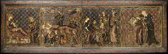 Devant d'autel : scènes de la vie de la Vierge (Détail 4)