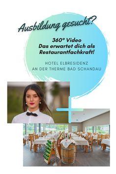 Begleitet Kim durch einen Arbeitstag als #Restaurantfachkraft im #Hotel Elbresidenz an der Therme Bad Schandau und seid durch das 360-Grad-Video hautnah dabei! #ausbildung #job #karriere #gastronomie