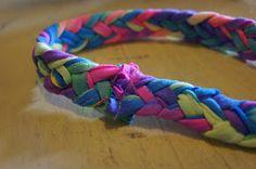 Trendy Treehouse: Braided T-Shirt Headbands