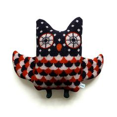 Owl love this forever! Lambswool Owl by SallyNencini on Etsy, £30.00