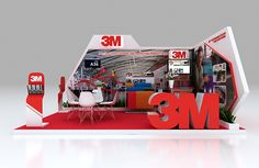 3M BOOTH on Behance