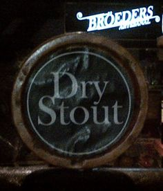 Broeders Dry Stout