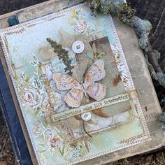 imperfections make life interesting Journal Covers, Art Journal Pages, Art Journals, Canvas Collage, Mixed Media Collage, Paper Art, Paper Crafts, Tim Holtz Stamps, Distressed Texture