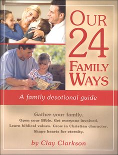 Our 24 Family Ways: A Family Devotional Guide | Main Photo (Cover)