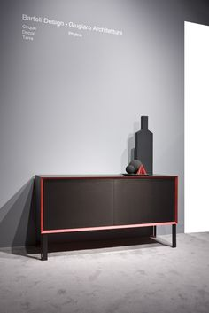Milan Design Week 2016. Phybra Dresser by Giugiaro Architettura | Laurameroni