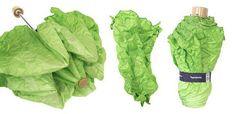 ...but secretly I want to buy...The Amazing Lettuce Umbrella