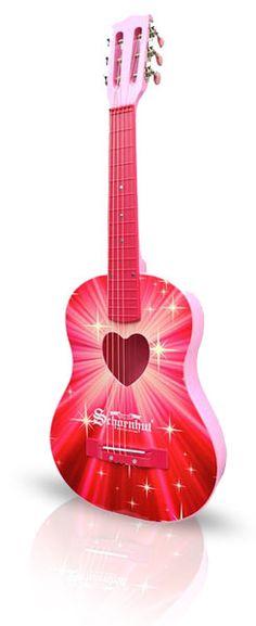 Fabulous Pink Acoutic Guitars Including Cutaway, Bulk, Electric Guitars & More!