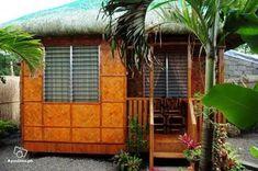 Bamboo House Design, Simple House Design, Tiny House Design, Bahay Kubo Design Philippines, Philippines House Design, Modern Filipino House, Philippine Houses, Hut House, Farm House