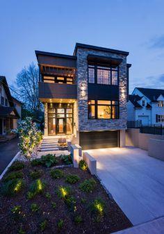 Geneva Home - Design First Interiors - contemporary - Exterior - Ottawa - Photolux Commercial Studio