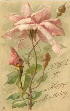 Greeting card design by C. Klein.  From TuckDB.org, a free online database listing antique postcards published by Raphael Tuck & Sons.