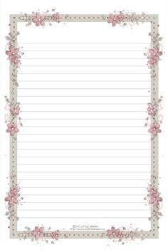 .335..framed lined paper