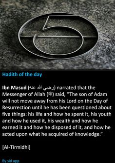 5 questions on the Day of Resurrection. #Islam