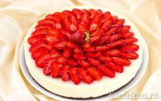 Творожный чизкейк с клубникой Strawberry, Strawberry Fruit, Strawberries