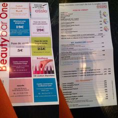 Lyon: J'ai testé le Bar à Ongles ESSIE à Confluence