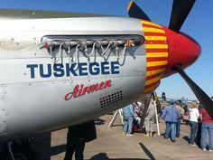 Tuskegee airmen P-51