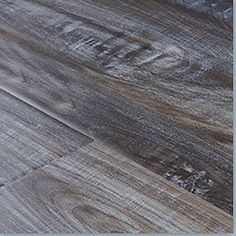 Trafficmaster allure metal gray oak resilient vinyl plank for Allure cement siding