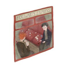 Hogwarts Express illustration by taryndraws
