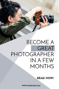 If you want to take good photos but don't want to drop big bucks on being qualified, there's a ton of ways to develop your skills. Sometimes, it's not about practicing harder, but practicing smarter. Read how you can improve your photography skills fast! Improve Photography, Dslr Photography Tips, Photography Tips For Beginners, Couple Photography Poses, Photography Lessons, Photography Business, Digital Photography, Amazing Photography, Photography Tutorials