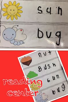 Sharing Kindergarten: Writing Words... can use this idea for word work