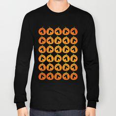 Unicorn Pumpkin Patch Long Sleeve T-shirts by That's So Unicorny   Society6