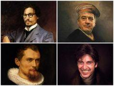 Famous Celebrities As Renaissance Masterpieces | FreeYork