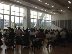Comfortably rehearsing with Maestro Enrique Diemecke & Suwon Philharmonic Orchestra ! Suwon, Orchestra, Conference Room, Table, Furniture, Home Decor, Decoration Home, Room Decor, Tables