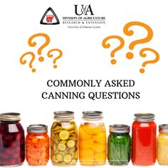 Canning is serious business, and it requires close attention to details. We've got all the research-based answers to your most common canning questions. Canning Food Preservation, Preserving Food, Refrigerator Jam, Low Acid Recipes, Canning Process, Jam And Jelly, Home Canning, Food Safety, Canning Recipes