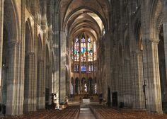 Basilica of Saint Denis (instead of Notre Dame or Sacre Coeur) Basilica Of St Denis, Gothic Architecture, Saints, France, Paris, Prestige, Artisans, Iglesias, Relief