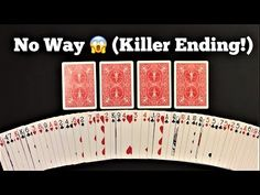 Magic Tricks Videos, Magic Card Tricks, Cool Magic Tricks, Magic Cards, Learn Magic, Magic Illusions, Bicycle Cards, Sleight Of Hand, Crazy Colour