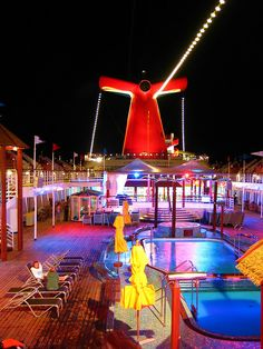 Beautiful evening on the Carnival Cruise Line. Can't wait for the cruise this year with my love!