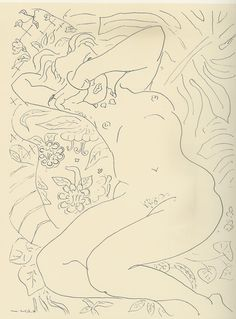 Henri Matisse - drawing