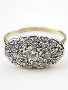 1940s Princess Ring - I use to have one of these when I was 17. First ring my boyfriend (later husband) gave me. - Don't see them much anymore.
