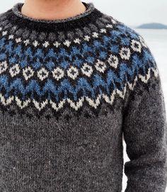 Riddari miehelle - Punatukka ja kaksi karhua Mens Knit Sweater Pattern, Sweater Knitting Patterns, Green Sweater, Knitting Projects, Christmas Sweaters, Fashion, Shelters, Iceland, Tricot